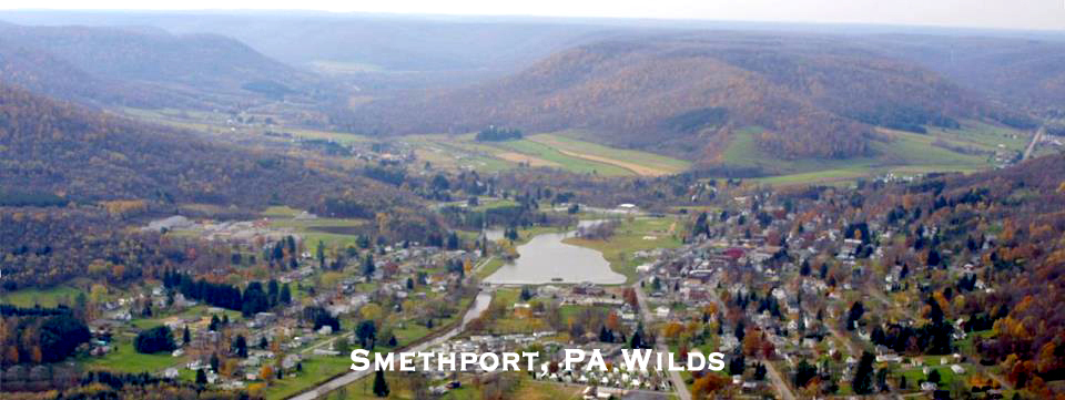 Welcome to idyllic Smethport, PA Wilds