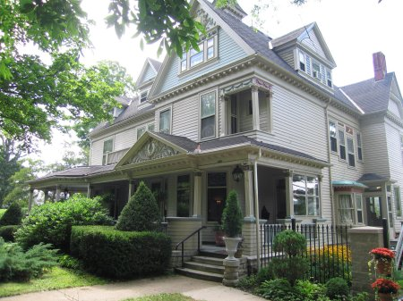 McCandless Mansion in 1891 - Mansion District Inn Suites - Smethport, PA